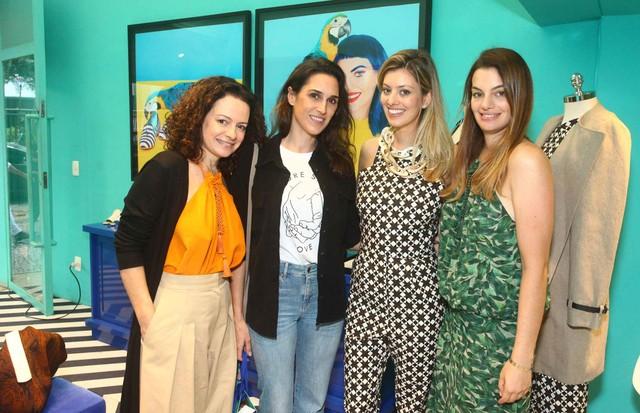 Andrea Marques, Bruna Furtado, Michelle Lima e Paula Proushan (Foto: César França)
