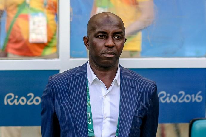Samson Siasia Nigéria futebol masculino Olimpíada (Foto: Efe)