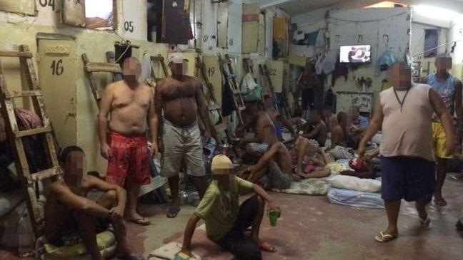 Desde 2008, o Estado brasileiro é denunciado, desde 2008, por problemas como superlotação carcerária (Foto: César Muñoz Acebes / Human Rights Watch. 2015)