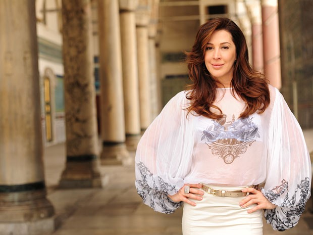 Claudia Raia gravou sequência em Istambul (Foto: Salve Jorge/TV Globo)