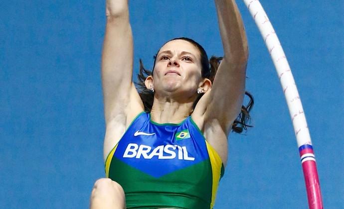 Fabiana Murer atletismo mundial polonia (Foto: Reuters)