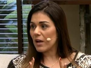 Andrea Bacelar dá dicas contra insônia (Foto: Tv Globo/Gshow)