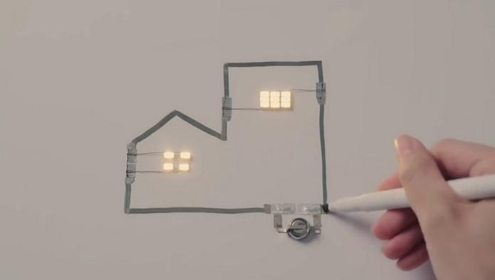 Circuit Marker, caneta que desenha circuitos elétricos (Foto: Divulgação/AgIC)