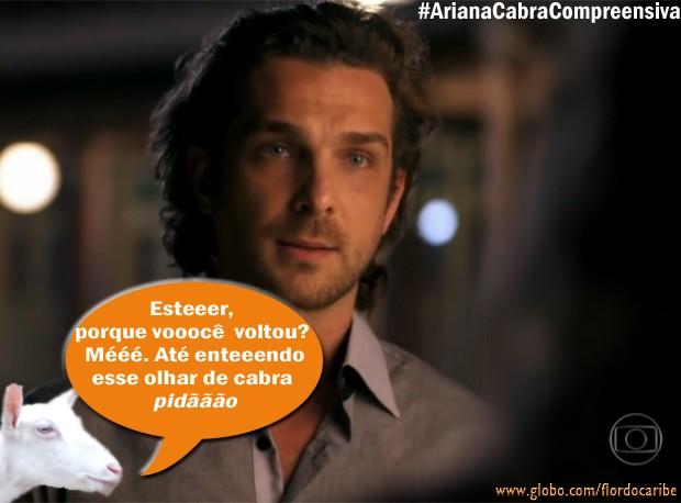 Alberto (Foto: Flor do Caribe/TV Globo)
