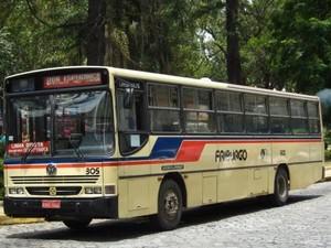 Ônibus Faol em Nova Friburgo (Foto: Divulgação)
