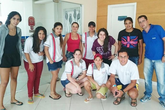 Trabalhadores-atletas buscam medalhas nos Jogos do Sesi nacionais em Belém (Foto: Divulgação/Fiems)