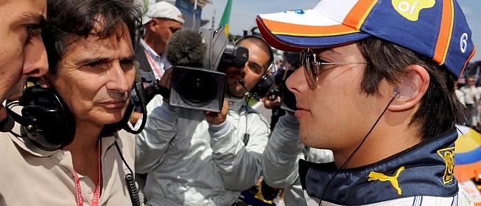Nelsinho Piquet Nelson Piquet