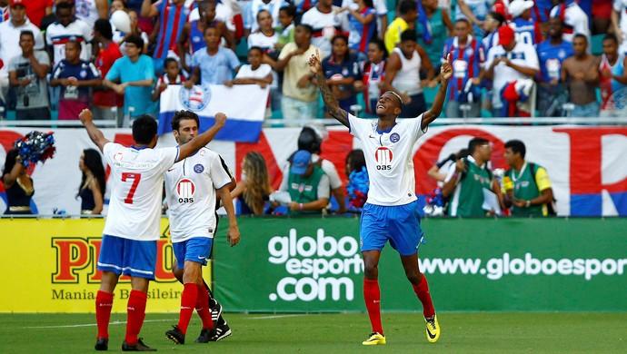 Talisca gol Bahia (Foto: Eduardo Martins / Ag. Estado)