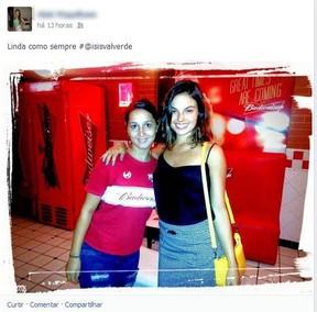 Isis Valverde (Foto: Facebook / Reprodução)