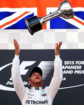 Hamilton lidera o Mundial de F1 com 277 pontos (Foto: Getty Images / reprodução Globoesporte.com)
