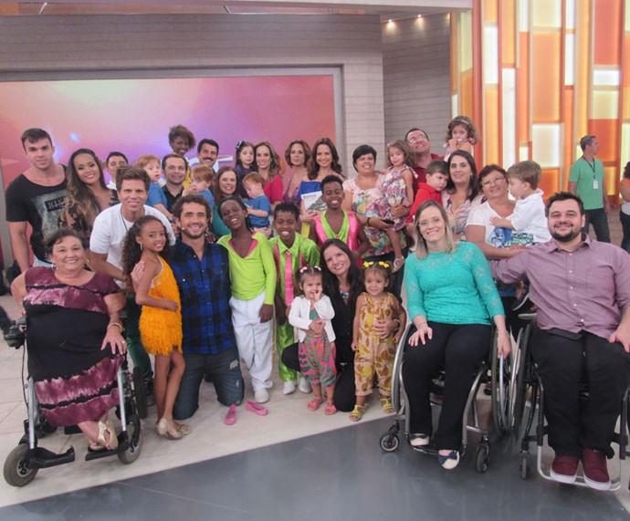 Todos os convidados do programa desta quinta-feira, 11/2 (Foto: Priscilla Massena/Gshow)