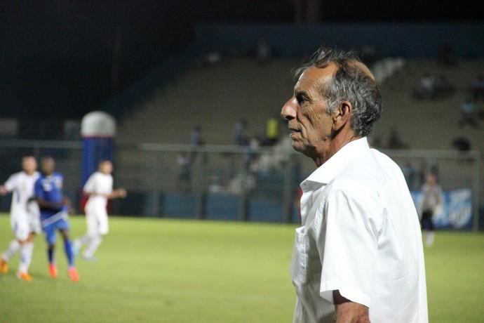 Aderbal Lana técnico do Nacional-AM (Foto: Marcos Dantas)