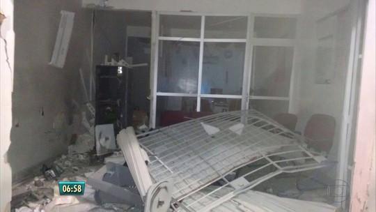 Bandidos explodem agência bancária em Camutanga, na Zona da Mata de PE