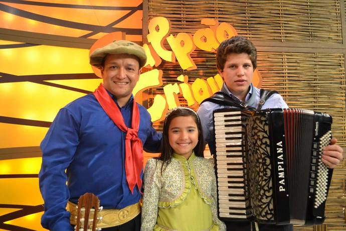 Maria Alice começou sua carreira na música aos 4 anos de idade.  (Foto: Daniel Bittencourt/RBS TV)