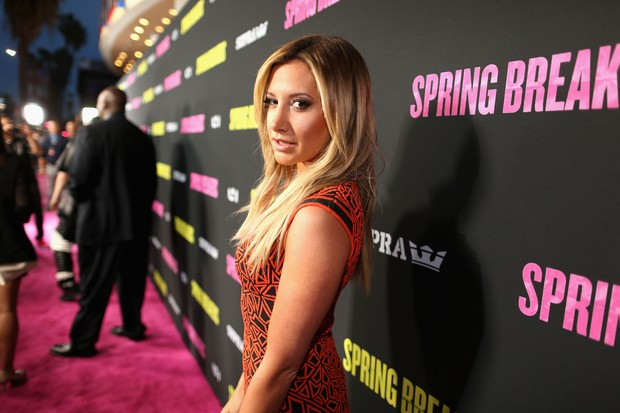 Ashley Tisdale em première de filme em Los Angeles, nos Estados Unidos (Foto: Christopher Polk/ Getty Images/ AFP)