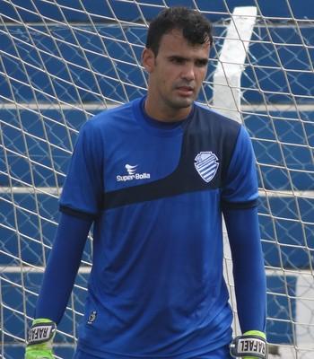 Rafael, goleiro do CSA (Foto: Leonardo Freire/GloboEsporte.com)