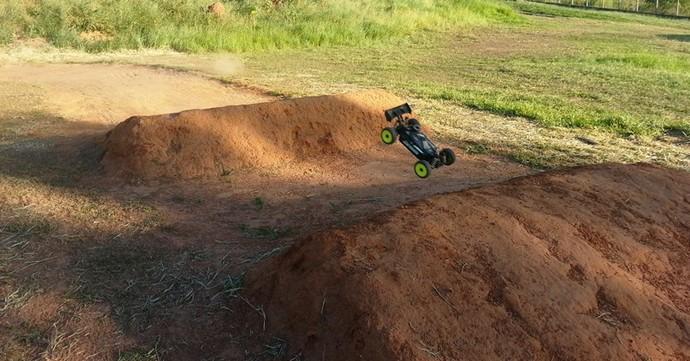 Para dificultar a pilotagem, pista foi reformulada (Foto: Divulgação / Cidade da Criança)