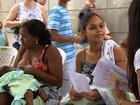 Mães participam da 'hora do mamaço' em campanha educativa em Aracaju