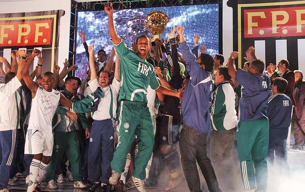 Palmeiras campeão Paulista 2008 (Foto: Marcos Ribolli / GLOBOESPORTE.COM)