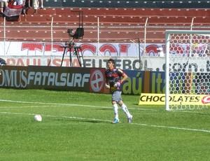Richard goleiro do Paulista Jundiaí (Foto: Divulgação)