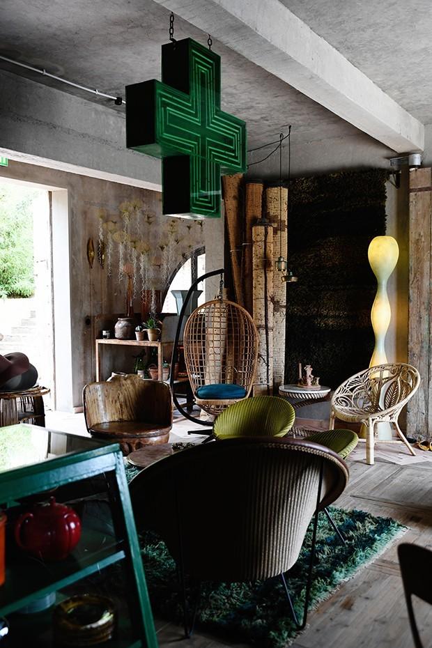 sala de estar wabi-sabi (Foto: Divulgação)