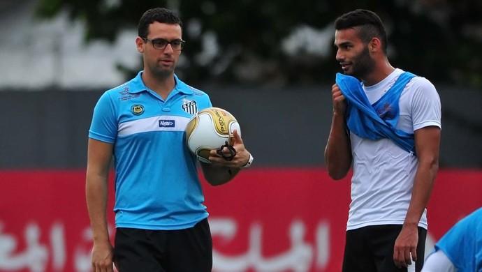 Thiago Maia e Lucas Silvestre, Santos (Foto: Ivan Storti/Santos FC)