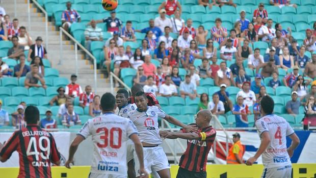bahia atlético-pr (Foto: Ulisses Dumas / Ag. BAPRESS/Divulgação)