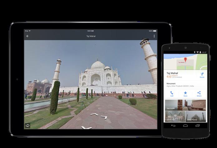 Google Maps para iOS e Android recebeu importante atualização com novos recursos (Foto: Divulgação/Google)
