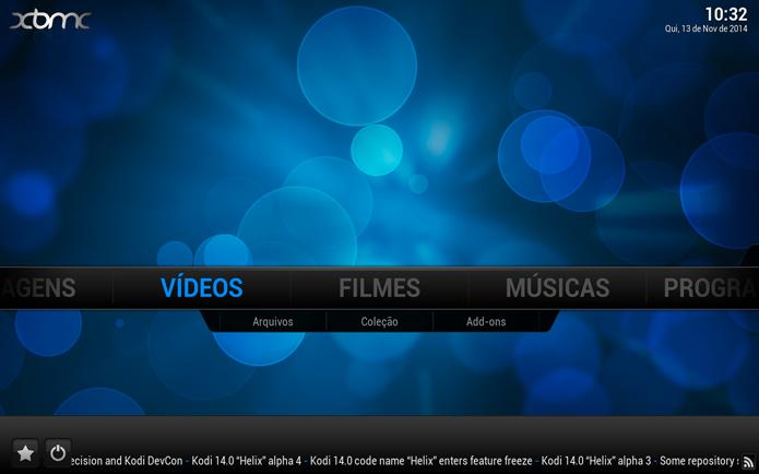 Acessando a opção de Vídeos (Foto: Reprodução/André Sugai)
