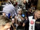 Ludmilla estreia como musa do Salgueiro no Rio: 'É hoje!'