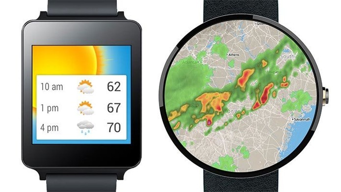 Aeris Wear Weather para Android Wear