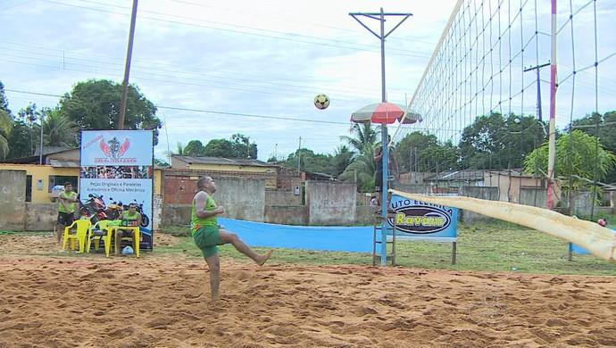 Campeonato de Futvôlei em Porto Velho (Foto: Reprodução/ Tv Rondônia)
