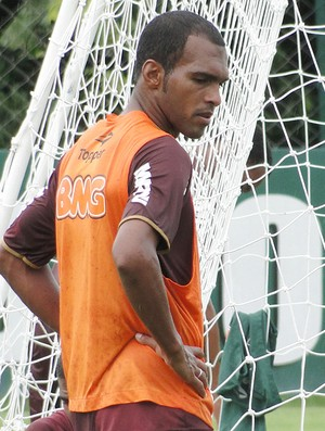 Richarlyson no treino do Atlético-MG (Foto: Leonardo Simonini )