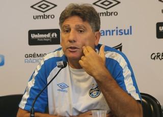 Renato Portaluppi Grêmio técnico (Foto: Eduardo Moura/Globoesporte.com)