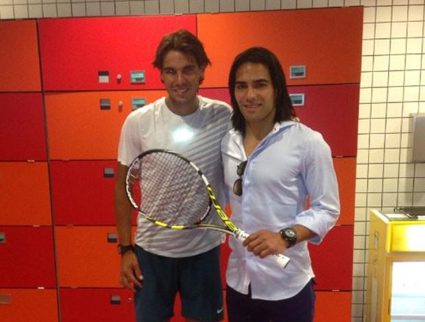 Falcao rafael Nadal instagram (Foto: Instagram)