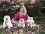 Karina Bacchi fala da relação com seus cachorros: 'Casa virou uma festa'