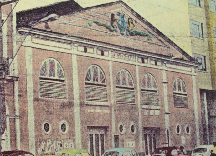 Cine Teatro Polytheama (Foto: Reprodução/Manaus de antigamente)