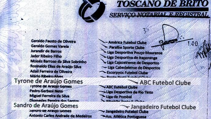 documento ministério público eleição fpf (Foto: Reprodução / MP da Paraíba)