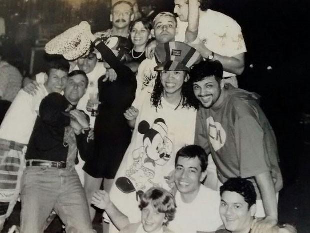 Integrantes da banda Mamonas Assassinas tinham a irreverência como marca registrada (Foto: Célia Alves/Arquivo Pessoal)