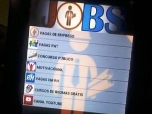 Jobs está disponível para sistema Android (Foto: Divulgação)