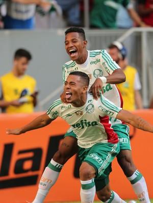 Gabriel Jesus gol Flamengo x Palmeiras