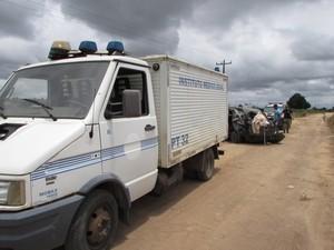 Acidente BR-101 NOva Viçosa Bahia 02 (Foto: Rubens Floriano/Teixeira News)