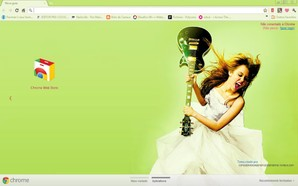 Tema Miley Cyrus para Chrome