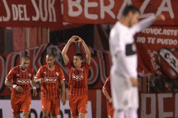 Trejo gol Independiente Olimpia (Foto: EFE/Juan Ignacio Roncoroni)
