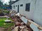 Marquise de prédio de prefeitura desaba no Tocantins