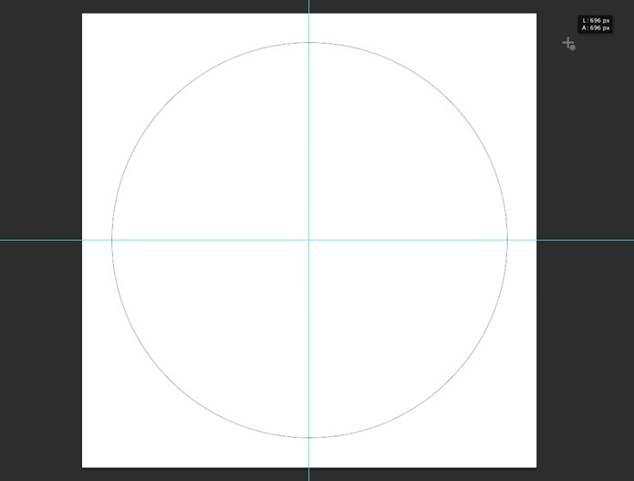 Demarcador do círculo (Foto: Reprodução/André Sugai)