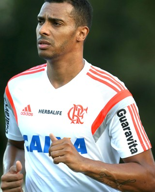 Elton, treino Flamengo (Foto: Mário Farache / Mowa Press)