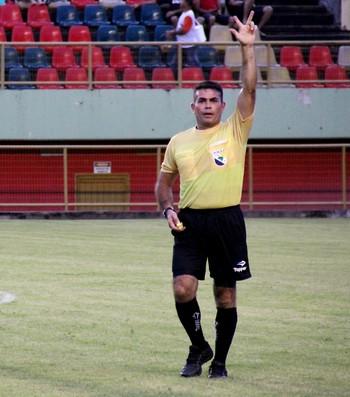 Antônio José Pinheiro, árbitro do Acre (Foto: João Paulo Maia)