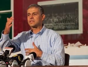 peter siemsen fluminense cafe imprensa (Foto: Bruno Haddad / FluminenseFC)