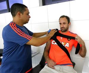 Magrão recuperação Sport (Foto: Carlos Vannonni/Assessoria do Sport)